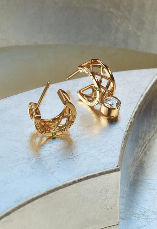 Collection Pont des Arts - diamants de synthèse et or recyclé 18K - Courbet