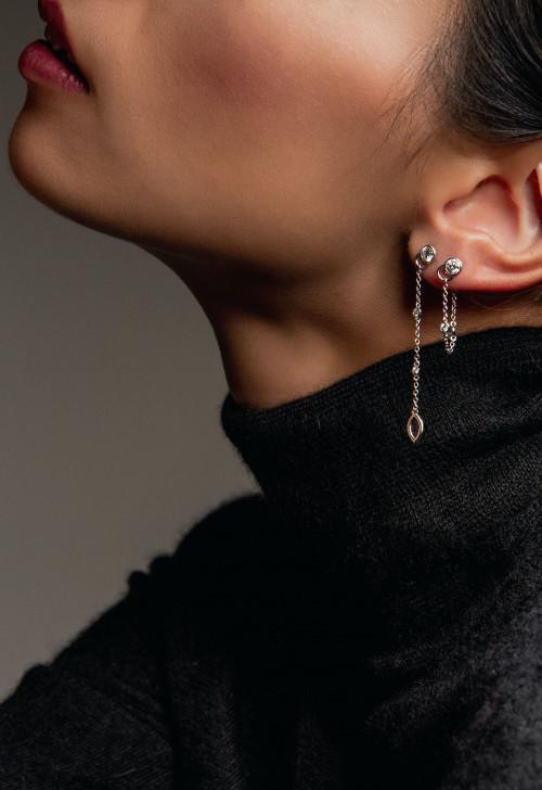 Collection CO - diamants de synthèse et or recyclé 18K - Courbet