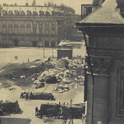 La Place Vendôme rêvée par un esprit révolutionnaire