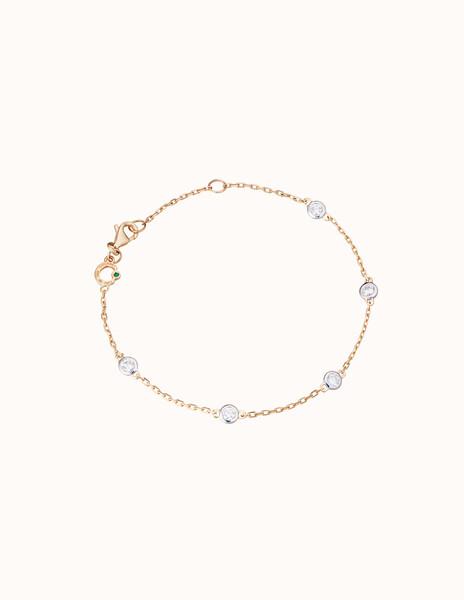 Bracelet or jaune et diamant - Courbet - Courbet