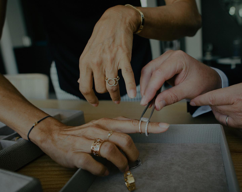 Sur-Mesure - créations en diamants de synthèse et or recyclé - Courbet - Courbet