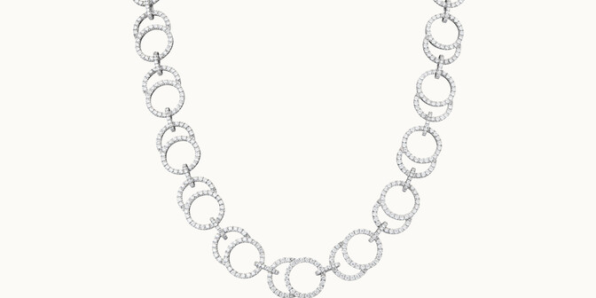 Collier Céleste en or blanc 18K - Courbet