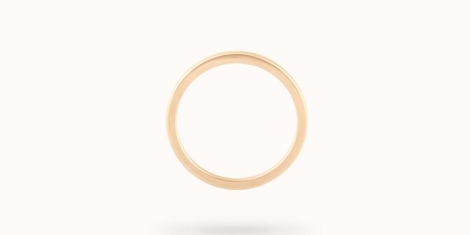 Alliance (2,3 mm) - Or jaune 18K (3,50 g) - Profil