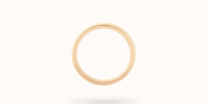 Alliance (1,8 mm) - Or jaune 18K (2,00 g) - Profil - Courbet